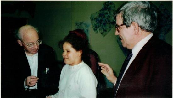 Avec roland strauss ecole pasteur2 27 3 2001