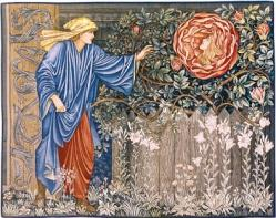 Burne jones miroir magique roman rose