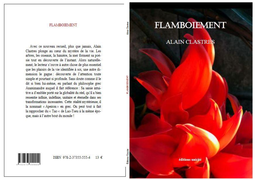 Clastres flamboiement couv jpg