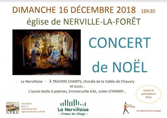 Concert noel nerville 2018
