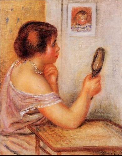 Renoir gabrielle miroir