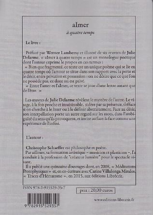 Schaeffer christophe aimer 4ecouv