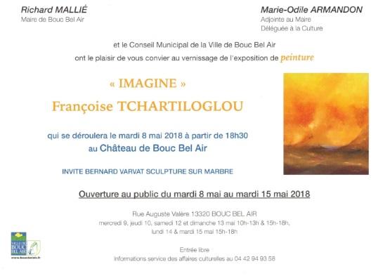 Tchartiloglou expo 2018 invitation