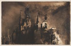 Victor hugo dessin chateau