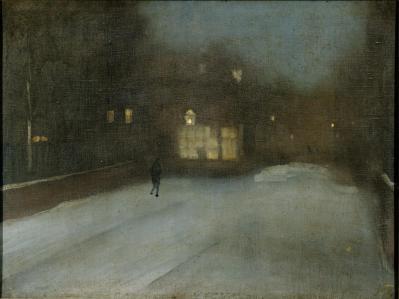 Whistler peinture brume